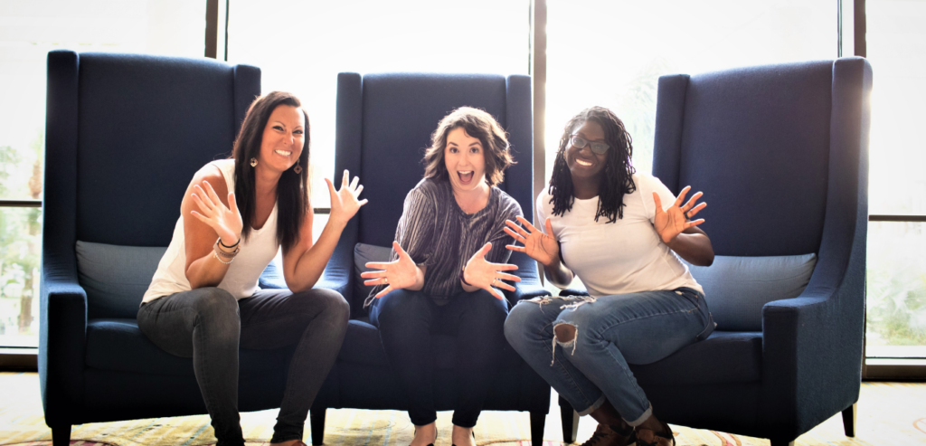 Becoming Internet Famous Podcast, Gina, Hailey, Melanie - A Year in Review